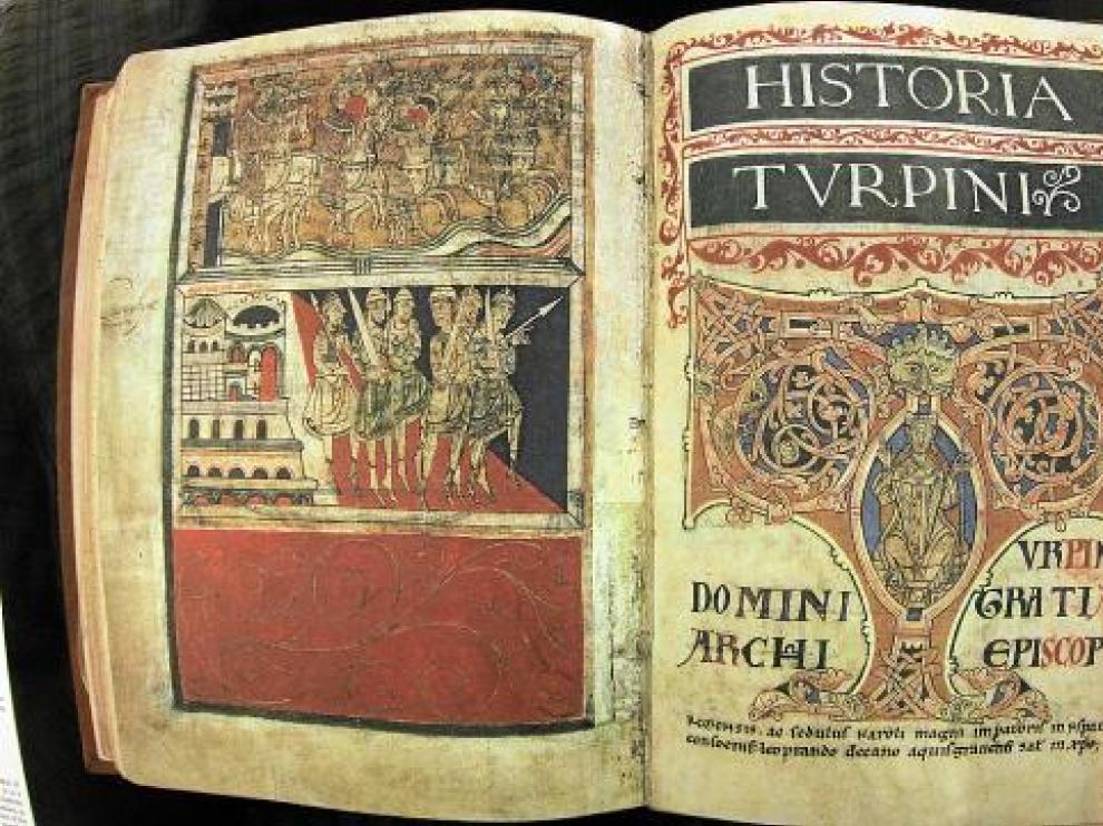 Imagen del Códice Calixtino, antes de su desaparición.