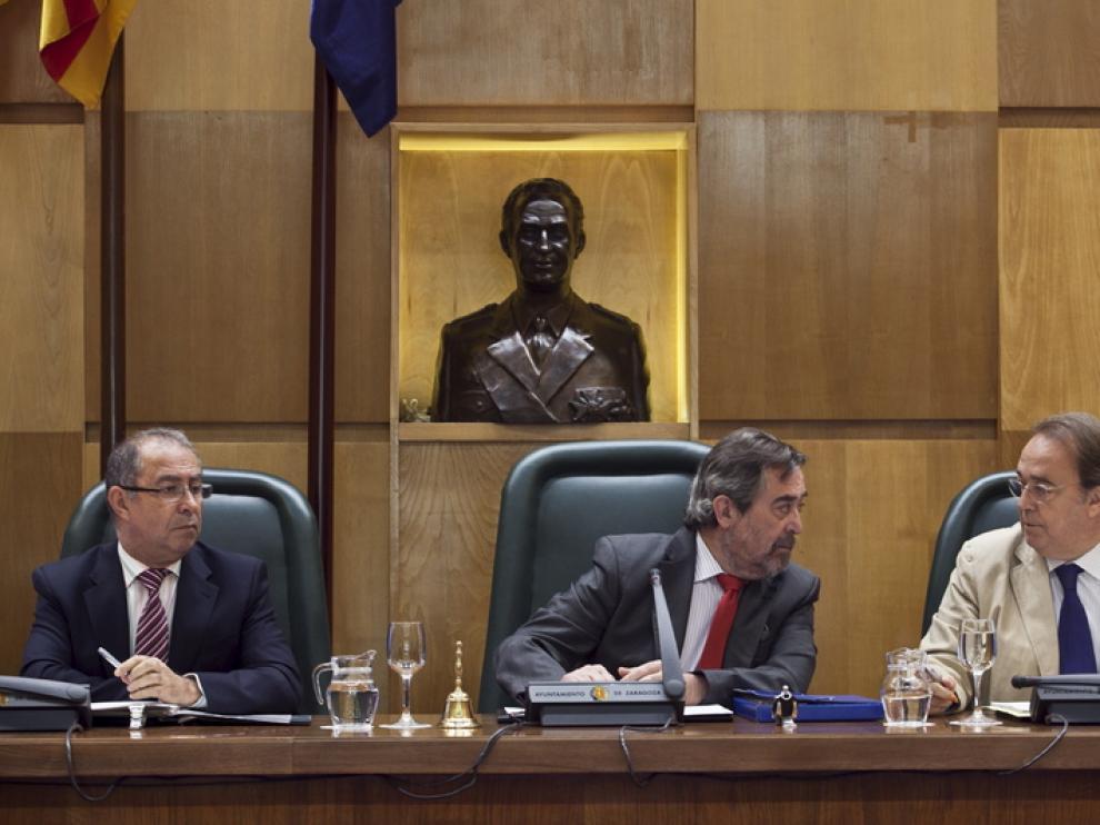 Pleno del Ayuntmiento de Zaragoza