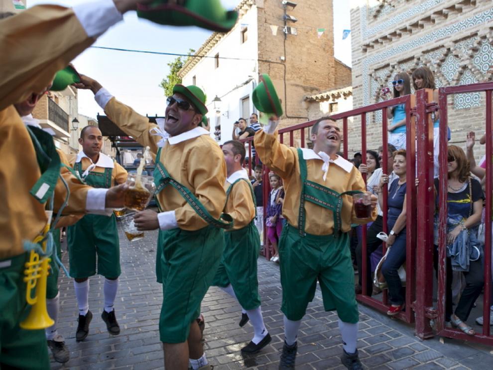 Desfile de las fiestas de Utebo.