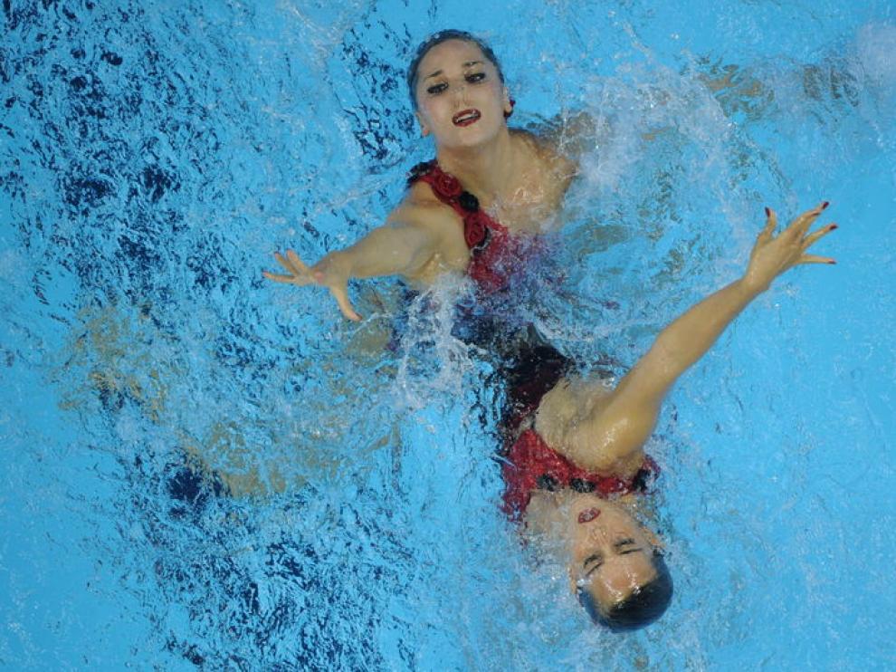 Andrea Fuentes y Ona Carboell