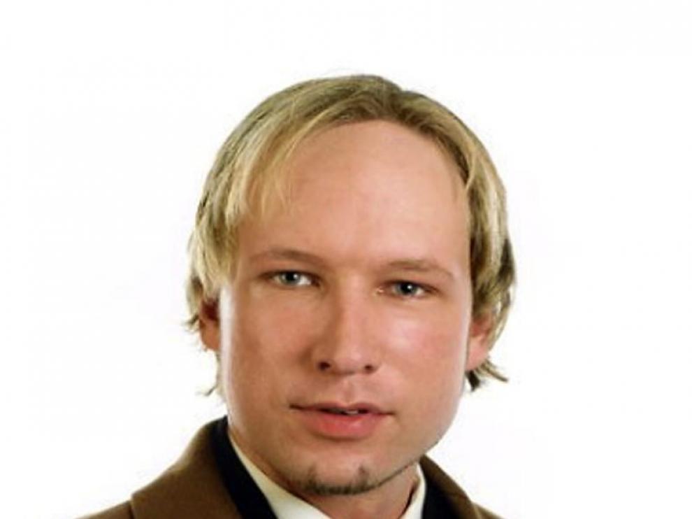 Anders Behring, presunto autor de los atentados de Noruega
