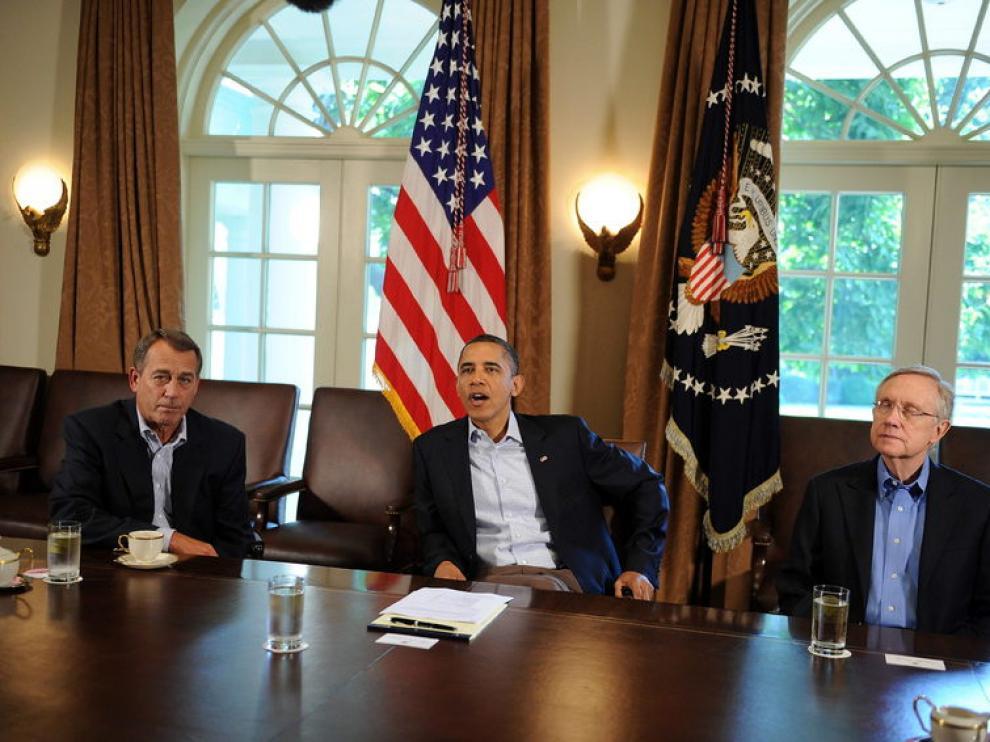 Reunión de Obama en la Casa Blanca