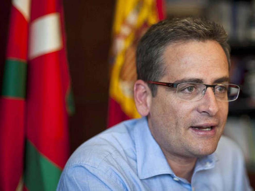 El presidente del PP vasco, Antonio Basagoiti, en una entrevista con EFE.