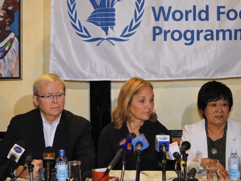 Rueda de prensa del PAM sobre el envío aéreo de alimentos a Somalia