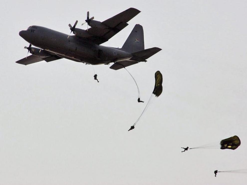 Un avión Hércules C-130 en una imagen de archivo