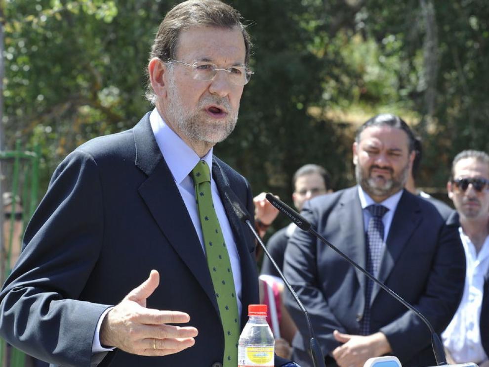 El líder del Partido Popular, Mariano Rajoy, en una imagen de archivo.