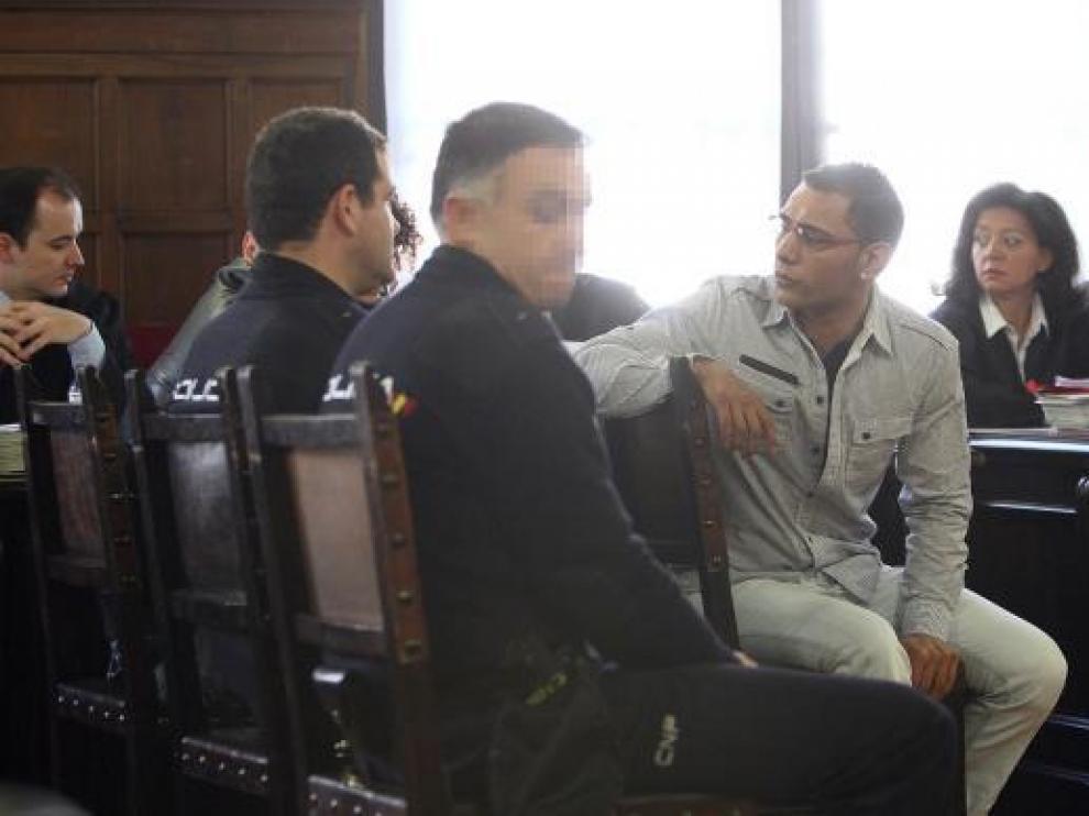 Marcos Jiménez, durante una de las sesiones del juicio celebrado en la Audiencai Provincial
