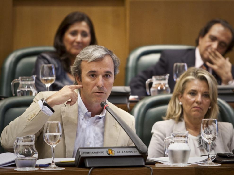 El concejal popular, Jorge Azcón
