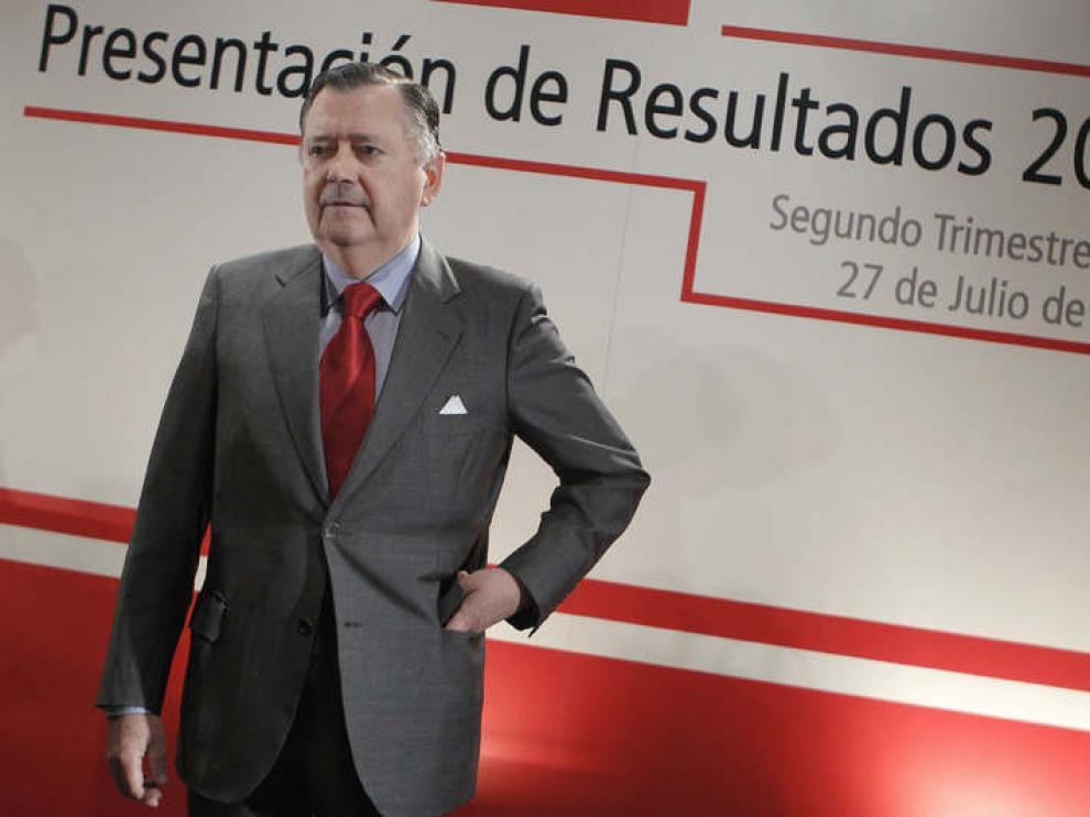 El consejero delegado del Banco Santander