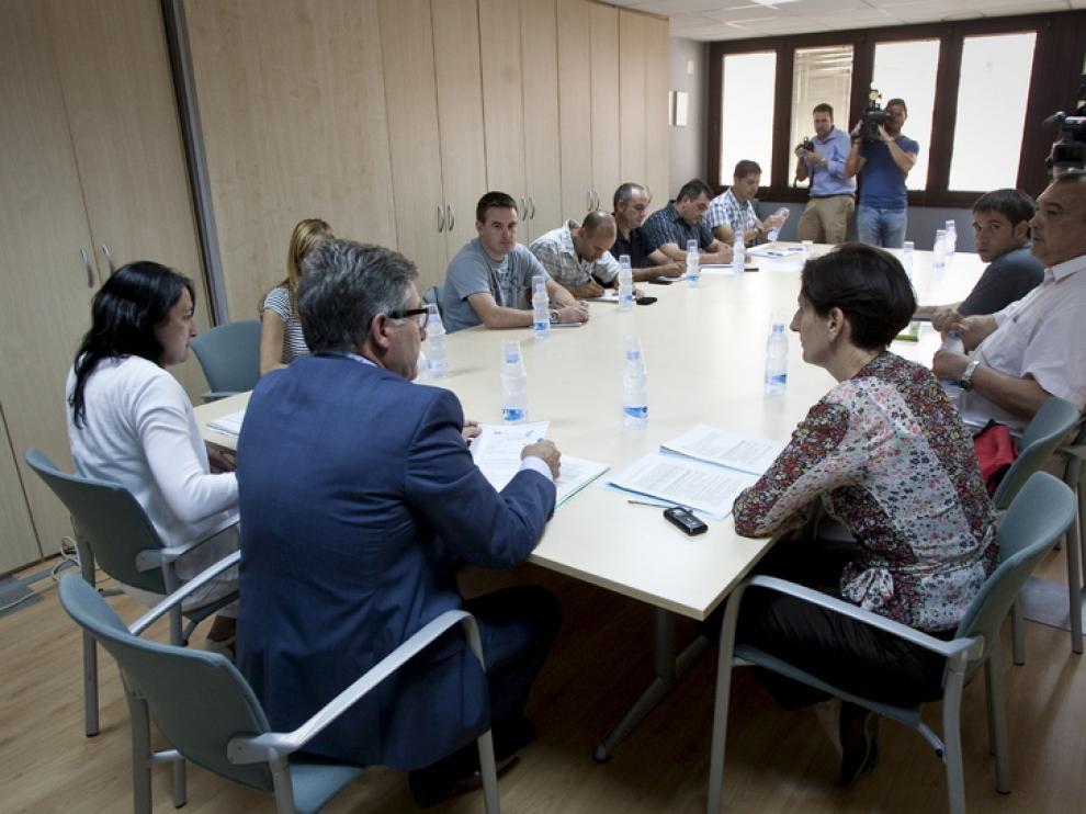 Reunión de Sodemasa para fijar los servicios mínimos