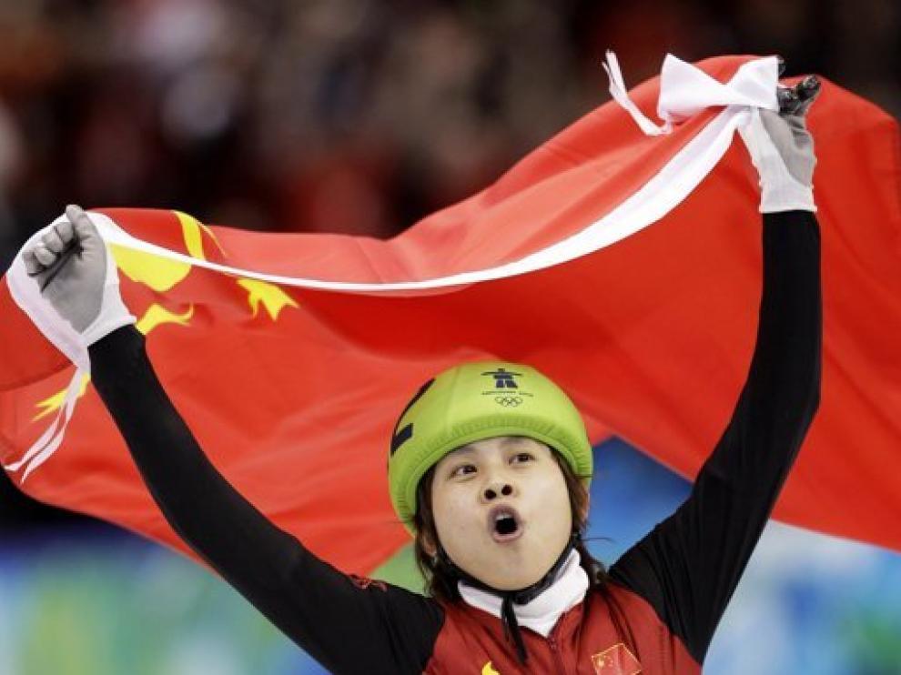 Wang Meng, cuatro veces campeona olímpica