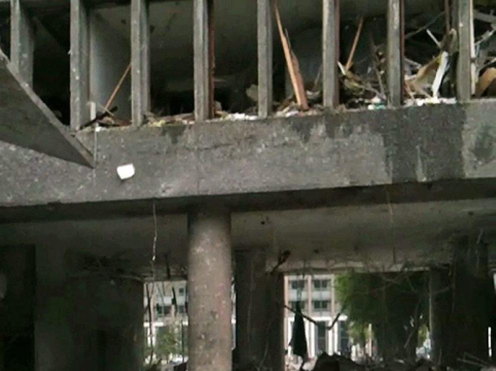 Nuevas imágenes de los atentados en Oslo