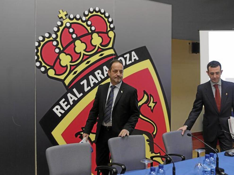 Agapito Iglesias y Javier Porquera.