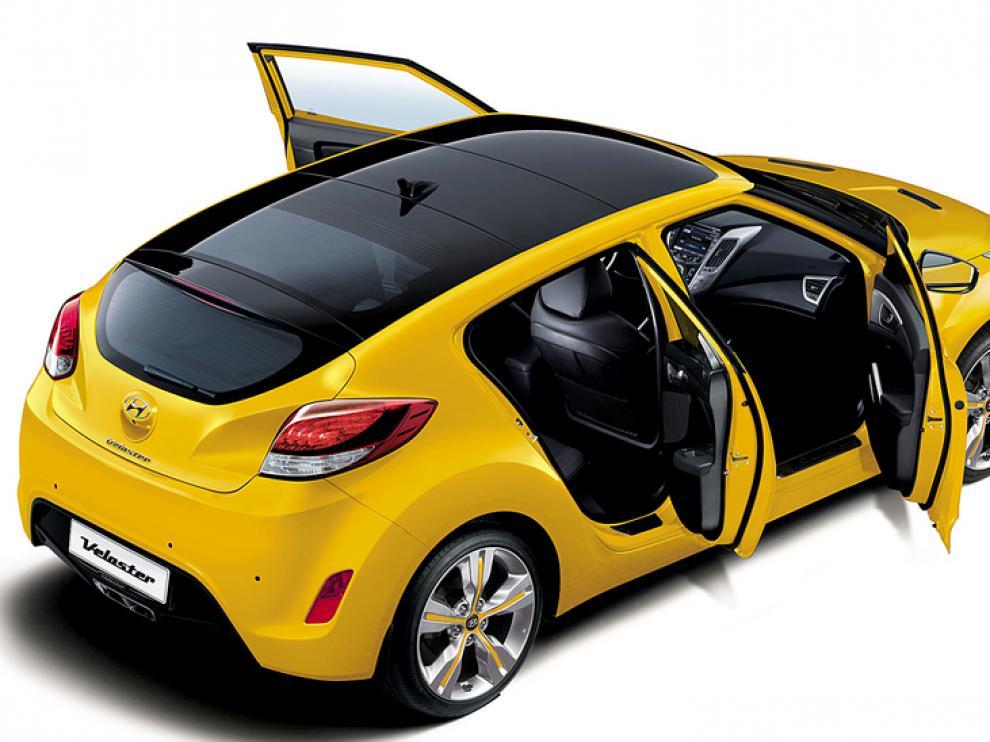 Veloster, nueva oferta de Hyundai.