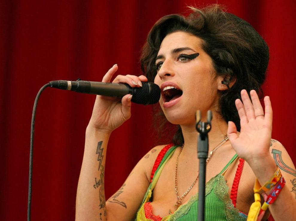 Foto de archivo de la fallecida Amy Winehouse.