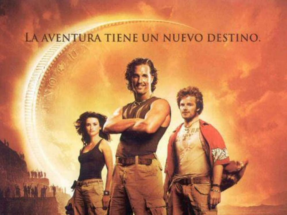 Cartel de la película 'Sahara'