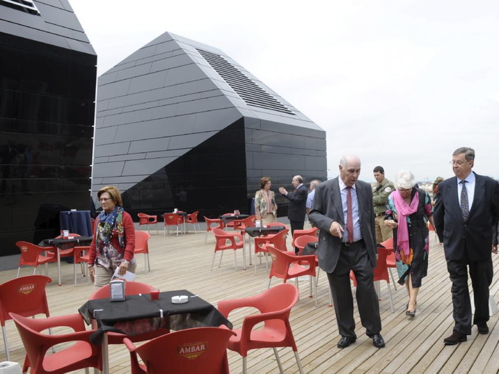 Visita guiada en la terraza del Pablo Serrano, el Día de los Museos