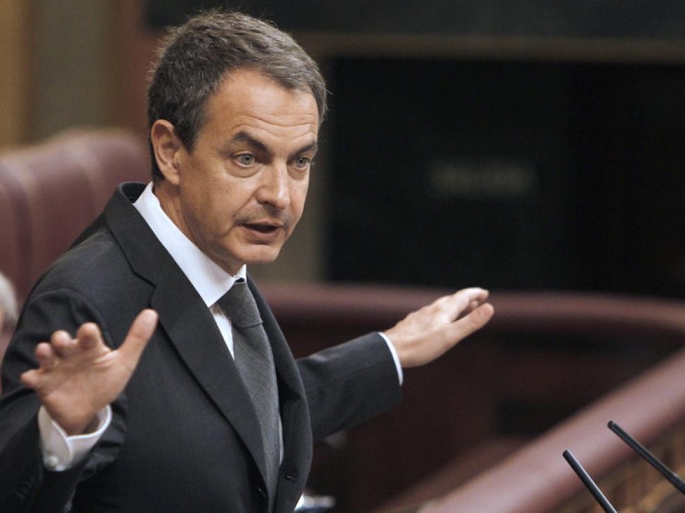 Zapatero, esta semana en el Congreso
