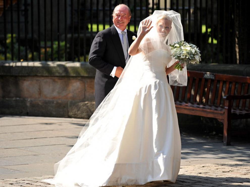 La novia Zara Philips