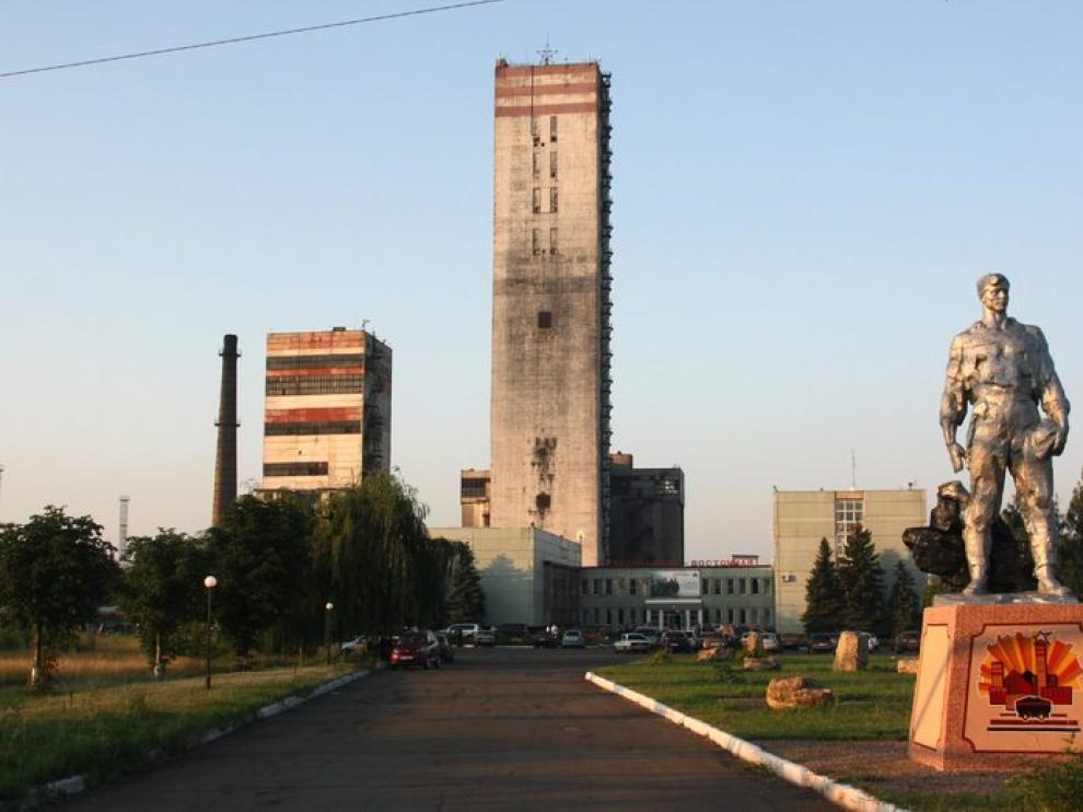 Vista general de la mina de carbón de Sujodólskaya-Vostóchnaya, en el este de Ucrania
