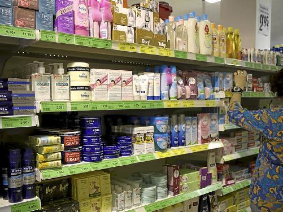 Supermercado en una imagen de archivo