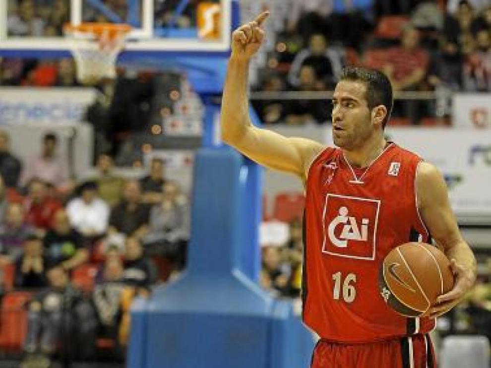 Carlos Cabezas, durante un partido esta temporada.