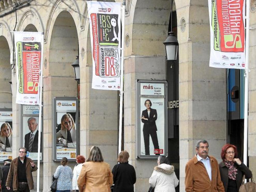 La Cruz Roja resaltaba en su último informe que esta problemática social existía en Zaragoza