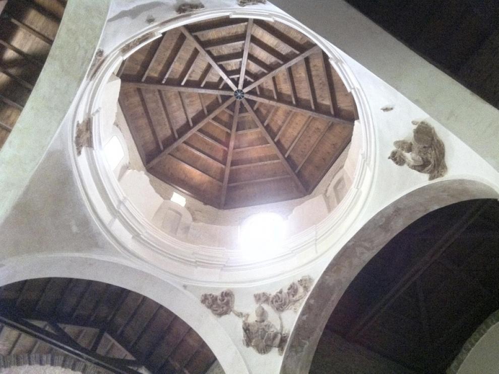 Detalle de la bóveda del crucero.