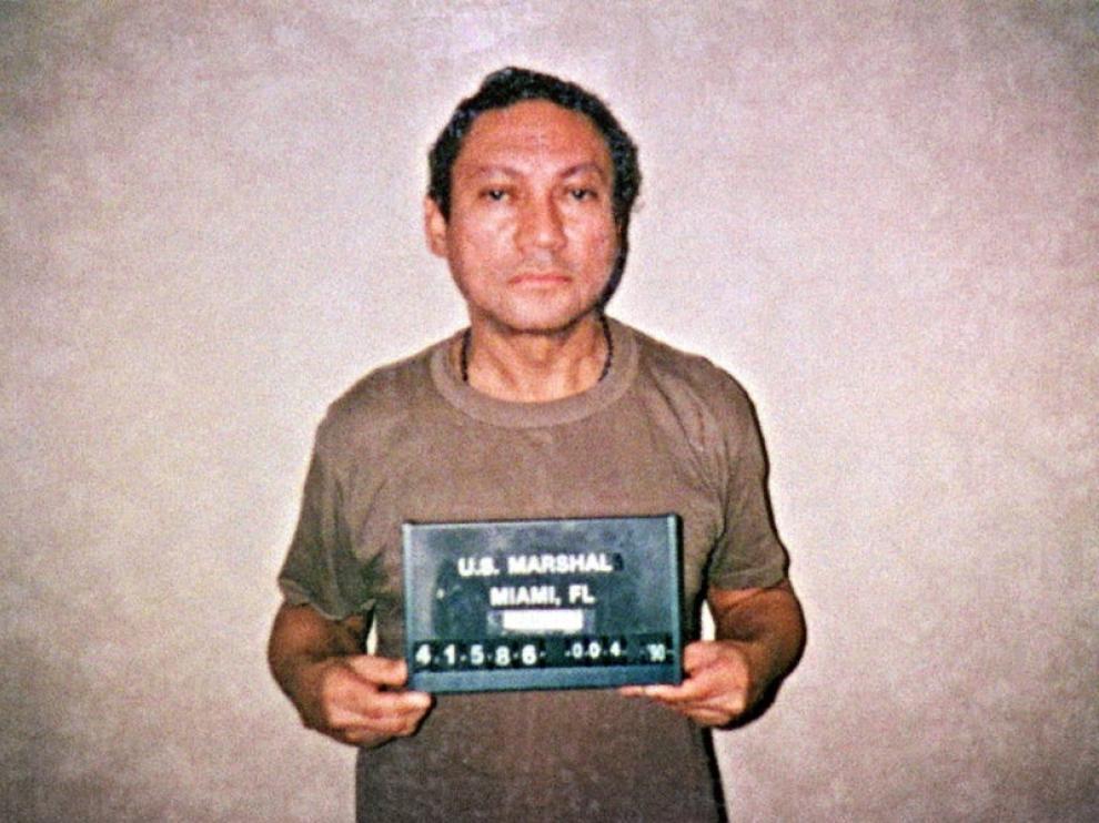 El ex general Manuel Antonio Noriega