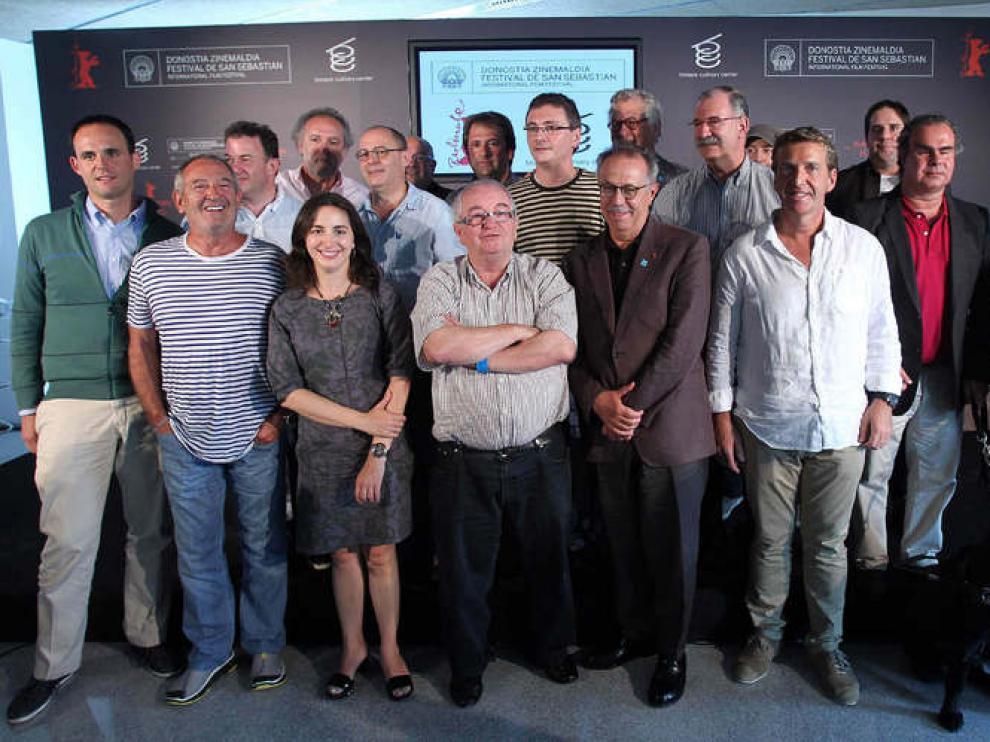 Este miércoles se ha presentado la nueva sección dedicada al cine y la gastronomía del Festival de Cine de San Sebastián.