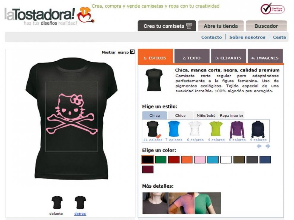 Las camisetas, las primeras prendas para diseñar