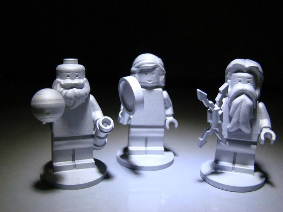 Las tres figuras de Leo que viajarán a la NASA