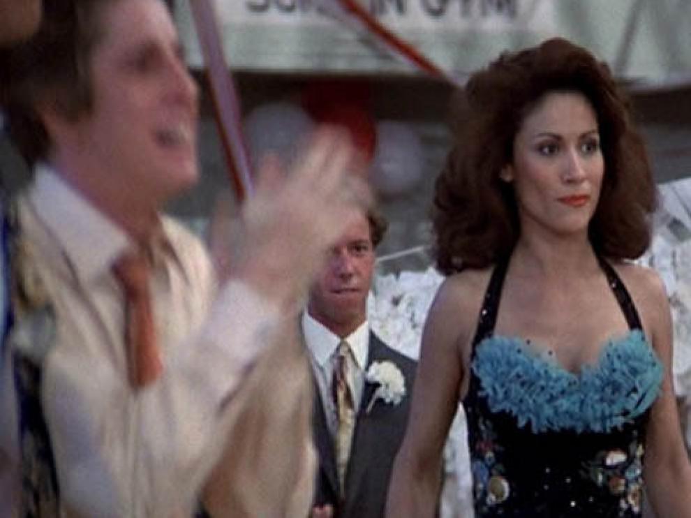 Annette Charles, en una escena de Grease