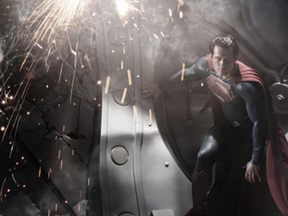 Imagen del nuevo superman en 'Man of Steel'