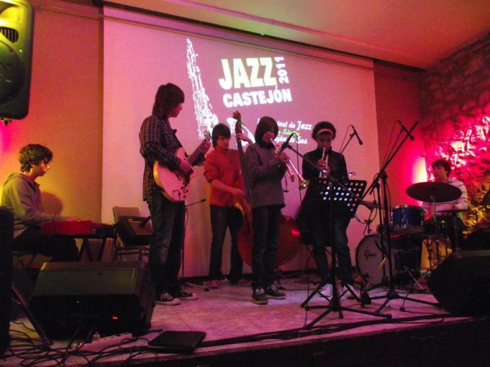 El grupo El Combo de la Vall es un conjunto de jazz que participa en el festival de Benasque.