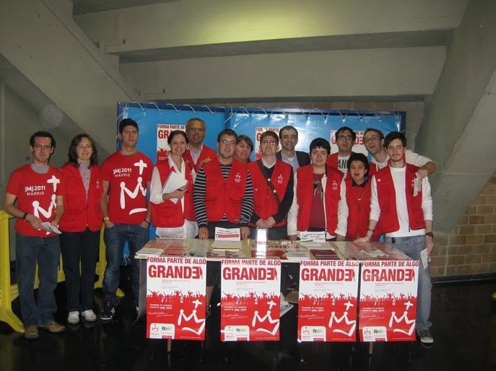 Los voluntarios tienen ya todo preparado para las JMJ de Madrid 2011