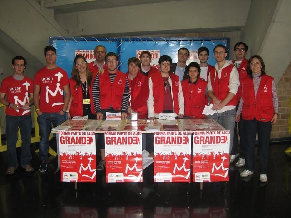 Los voluntarios, que han trabajado duro durante meses, tienen ya todo preparado para las JMJ de Madrid 2011