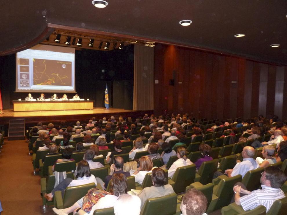 Inauguración de los cursos de la Universidad de Zaragoza en Jaca este verano
