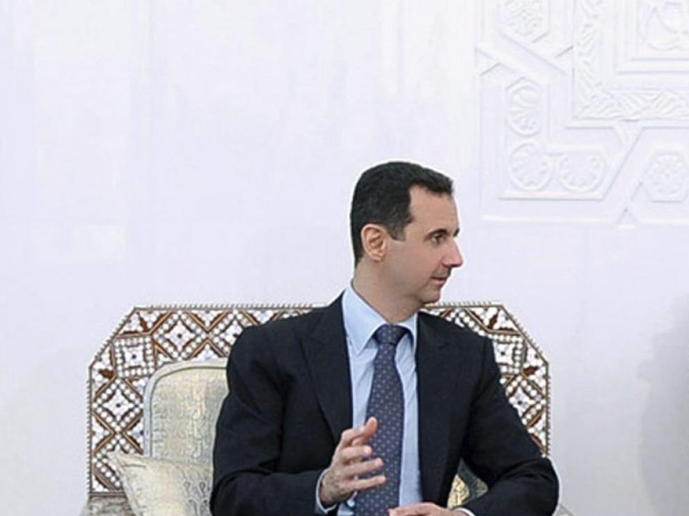 El presidente de Siria, Bachar al Asad