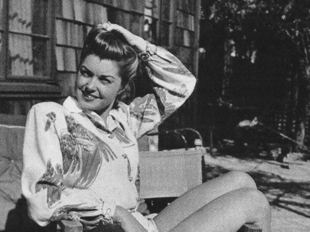 Imagen de archivo de la actriz en sus años dorados