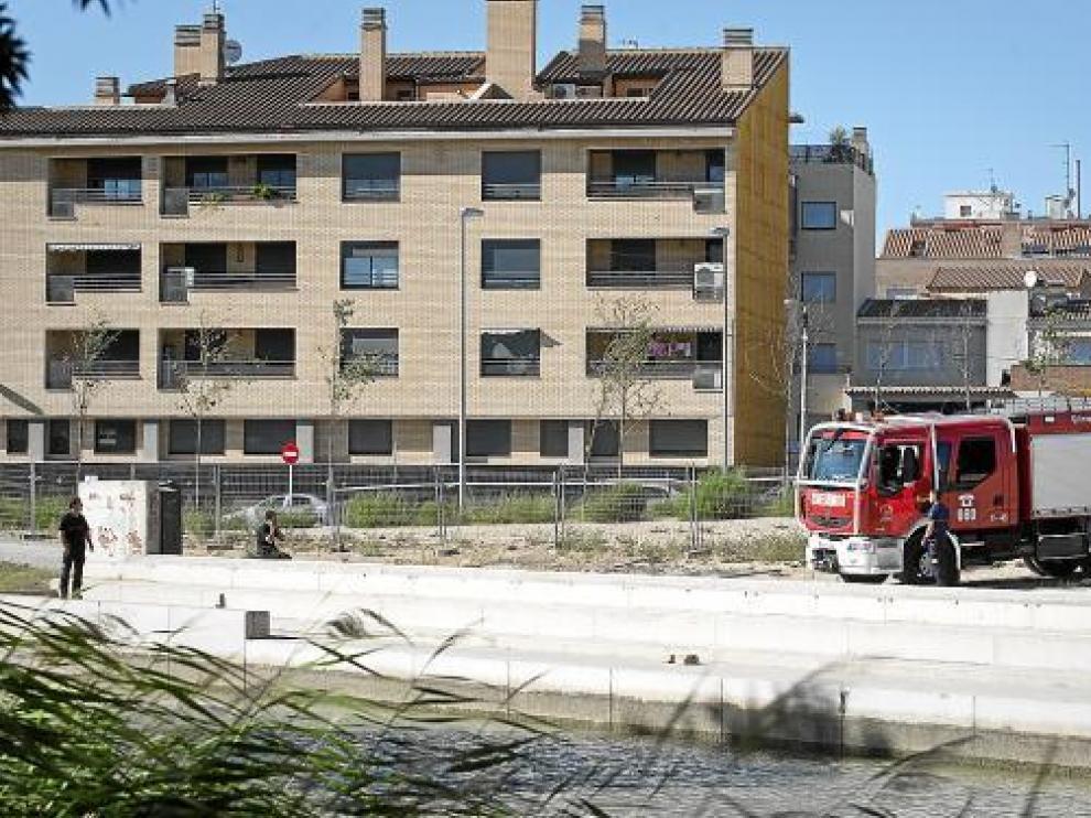Los bomberos, en una intervención