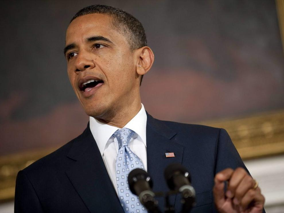 El presidente de EE. UU., Barack Obama