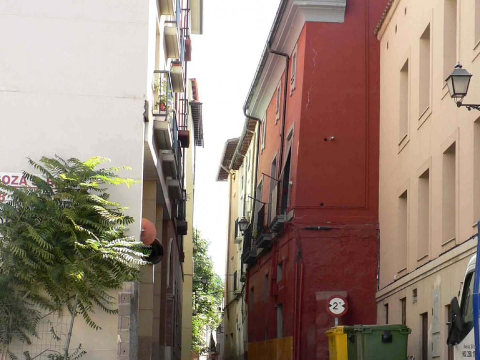 Nuevo aspecto de la calle San Miguel de Calatayud, tras las obras
