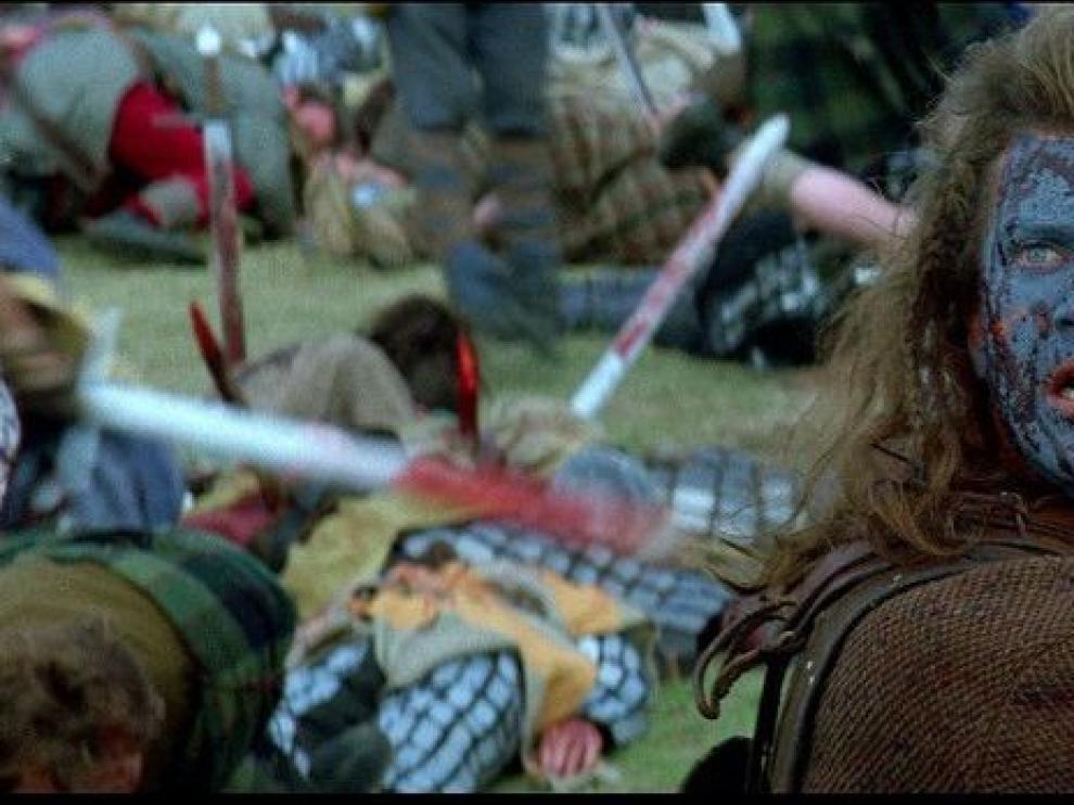 Mel Gibson en 'Braveheart'
