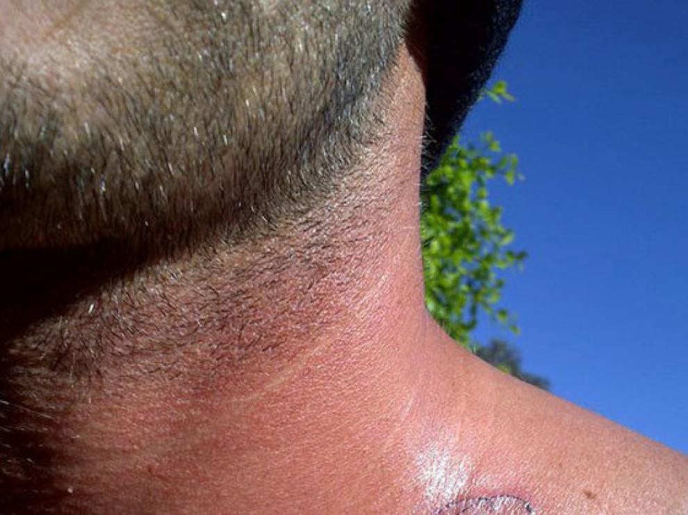 Beckham colgó en facebook esta foto, bajo el título 'Mi último tatuaje'