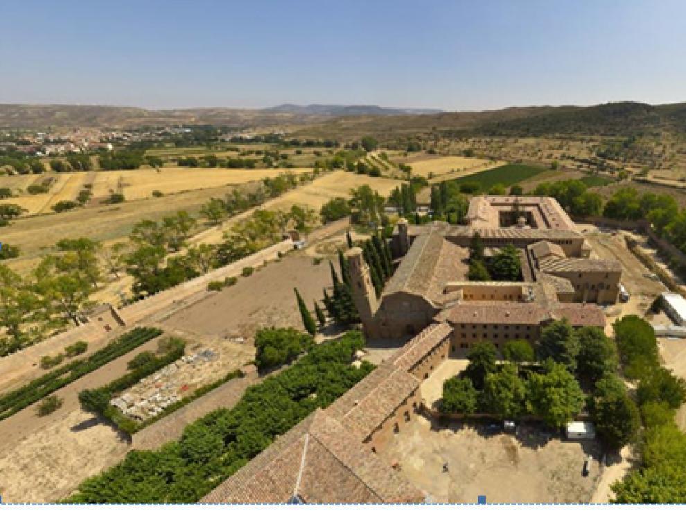 El monasterio de Veruela, en 360 grados