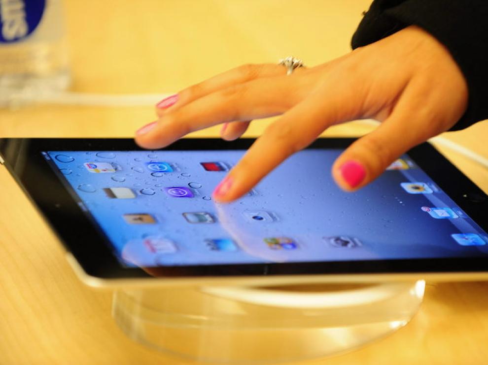Imagen de un iPad 2, de la compañía estadounidense Apple