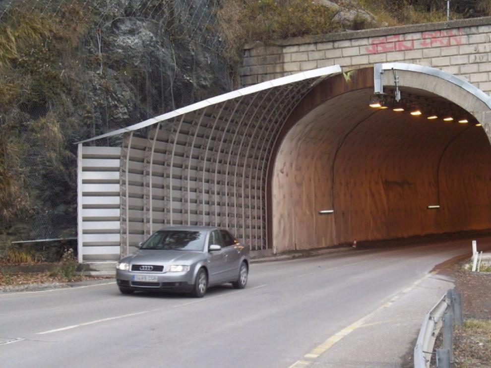 Una de las carreteras aragonesas.