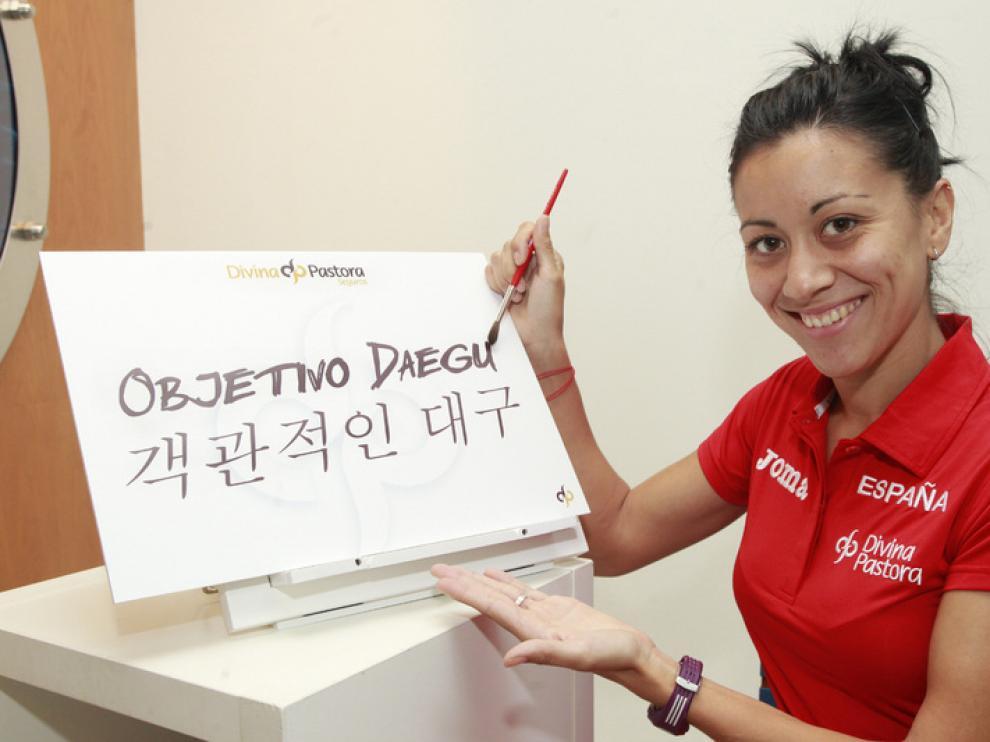 Isabel Macías, poner su objetivo en Daegu