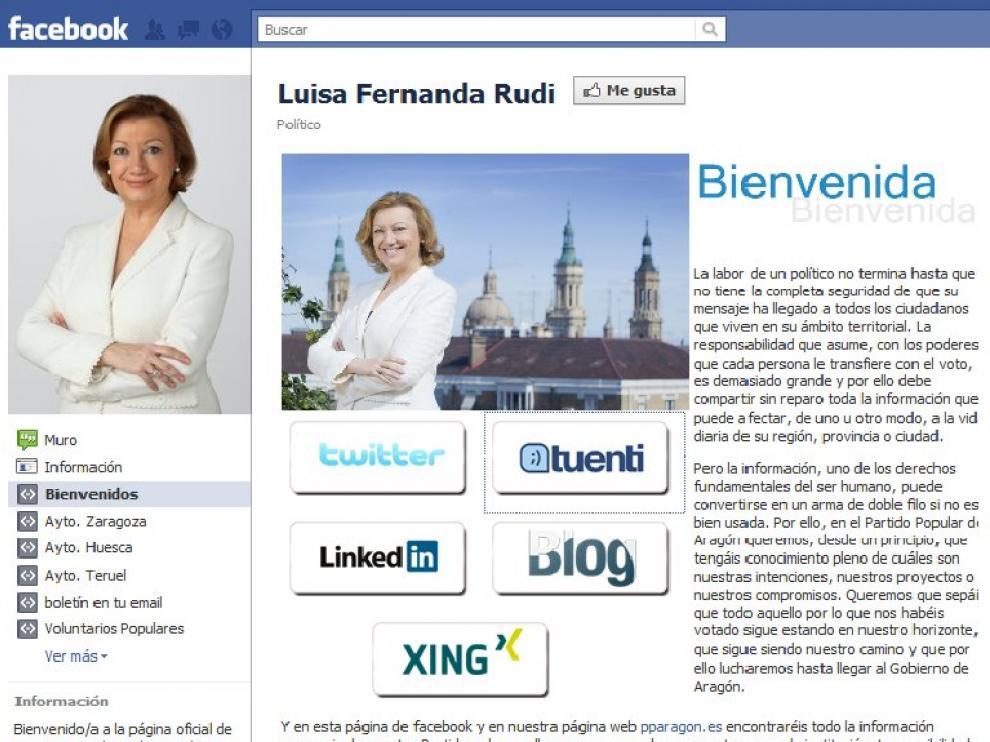 Rudi, en Facebook